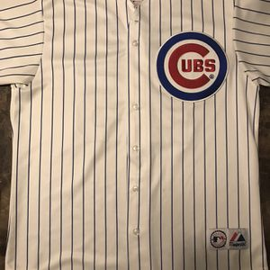 Derek Lee #25 Chicago Cubs Home White Majestic Authentic Sewn Jersey Mens size L for Sale in IL, US