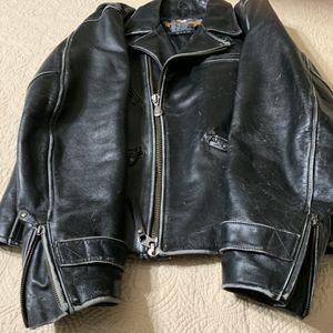 Harley Davidson Large Genuine Leather Jacket for Sale in Buckeye, AZ