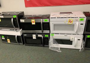 BRAND NEW OVERHEAD MICROWAVES WITH WARRANTY 9KY for Sale in Santa Monica, CA