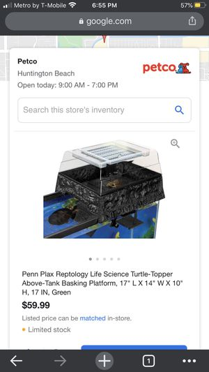 Turtle filter and basking area for Sale in Carson, CA