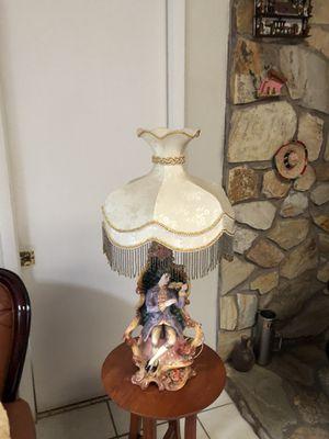 Capodimonte lorenzon lamp for Sale in Kissimmee, FL