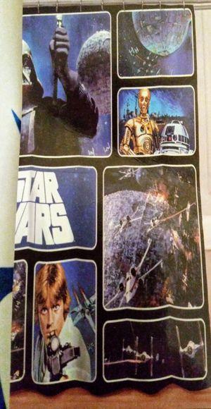 Star Wars Fabric Shower Curtain for Sale in Pompano Beach, FL