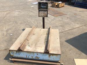 Movable scale 10,000 lb for Sale in Chula Vista, CA