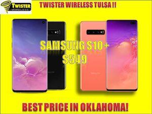 Samsung s10 PLUS $549! UNLOCKED/ DESBLOQUEADO for Sale in Tulsa, OK