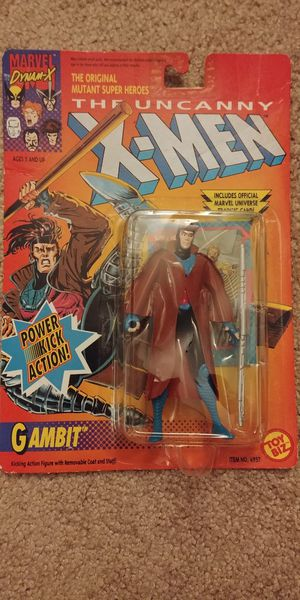 SEALED toy biz 1992 Gambit action figure for Sale in Liverpool, NY