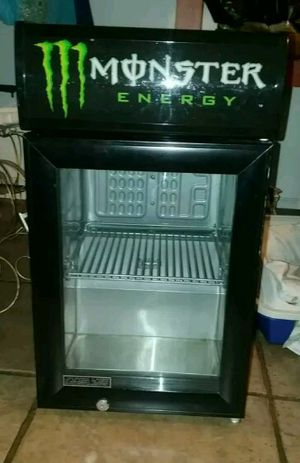 Rare Energy Monster Beverage Mini Fridge for Sale in Los Angeles, CA