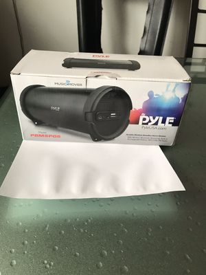 pyle portable bluetooth wireless boombox stereo system for Sale in Queens, NY