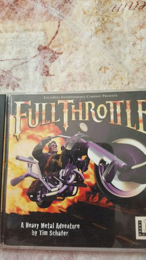 FULL THROTTLE GAME for Sale in Mount Gilead, OH