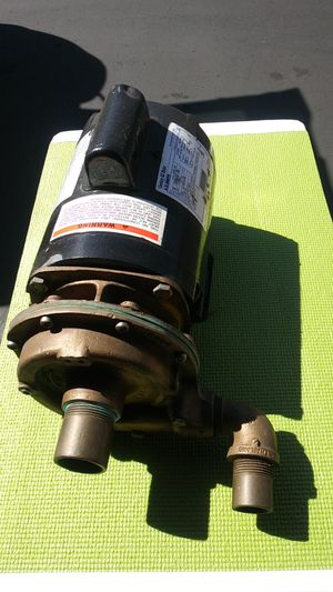 Seawater Circ pump 120/230 for Sale in San Diego, CA