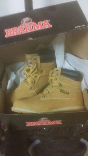 Brand new work boots in box for Sale in Richmond, CA