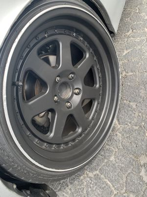 Chikara wheels 5x114.3 18x9.5 for Sale in Huntington Beach, CA