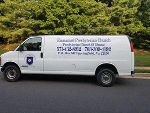 Clean. Chevy Express VAN 2500 for Sale in Dumfries, VA