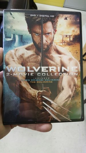DVD of The Wolverine and X-Men Origins The Wolverine for Sale in Toddville, IA