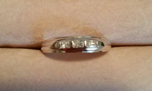 Sterling silver ring with gems for Sale in Powhatan, VA