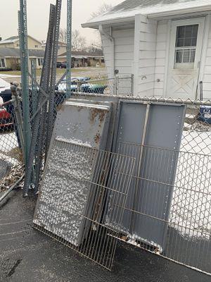 Metal shelving heavy duty $30 for Sale in Oak Lawn, IL
