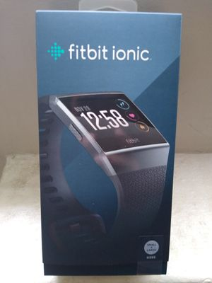 Fitbit ionic watch for Sale in Silver Spring, MD