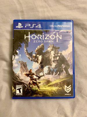Horizon Zero Dawn PS4 Game for Sale in Pacifica, CA