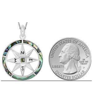 Sterling silver compass pendant for Sale in Vero Beach, FL