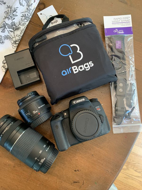 Canon Rebel t6s and Lenses