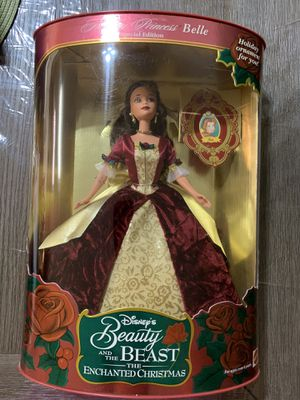 Disney Christmas Belle Beauty and the Beast collection for Sale in Wesley Chapel, FL