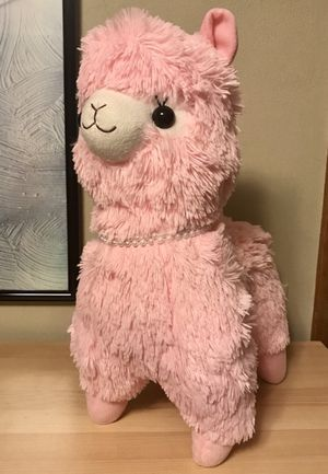 "Pink ""Momo"" Alpacasso Alpaca Plushie for Sale in University Place, WA"