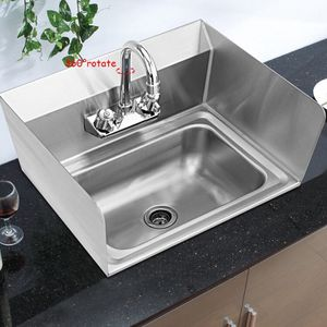 NSF Stainless Steel Hand Washing Sink with Faucet for Sale in West Covina, CA