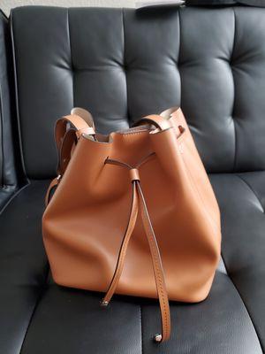 Lodis Leather Bucket Bag Cognac for Sale in Cerritos, CA