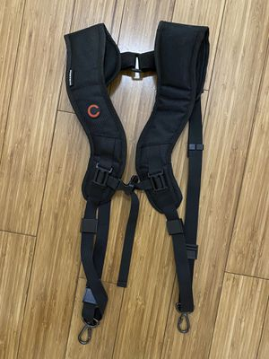 Dual Shoulder Camera Holder - Two Camera Neck Strap for Sale in Los Angeles, CA