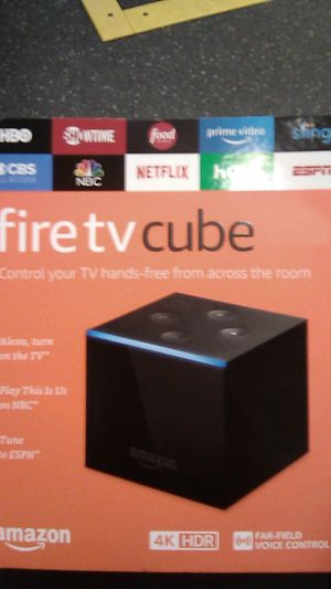 Fire TV cube by Amazon for Sale in Coronado, CA
