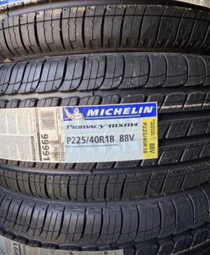 "18"" MICHELIN PRIMACY MXM4 Tires 225/40R18 ....$129 Each for Sale in La Habra Heights, CA"