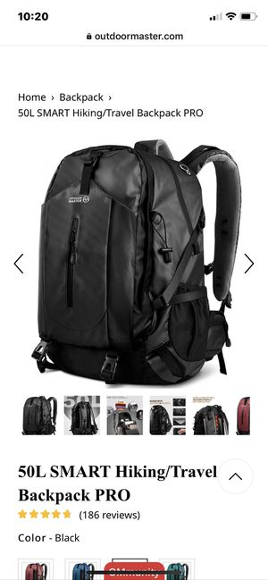 Outdoor Master Hiking/Travel Backpack for Sale in Pickerington, OH