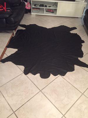 Black 100% leather for Sale in Miami, FL