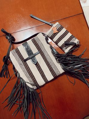 Mohair fringe purse with matching wallet 🦄 for Sale in Tamarac, FL