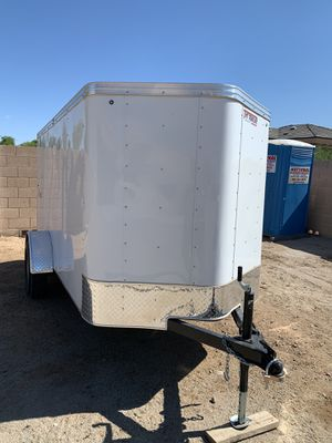 """Enclosed trailer 5X10 """"AZ Title in hand"""" for Sale in Peoria, AZ"""