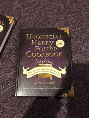 The unofficial Harry Potter cookbook for Sale in Hughesville, PA