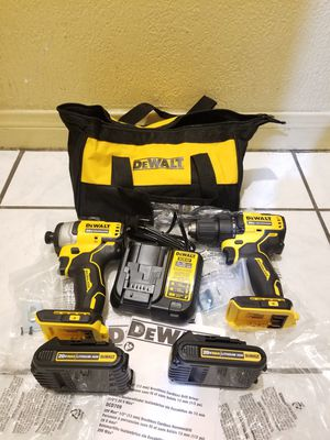 Dewalt Combo kit Drill and Impact Driver Brushless 20V for Sale in Norwalk, CA
