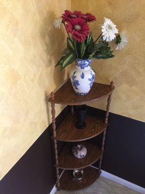 Corner Shelf with Four Shelves for Sale in Newark, CA