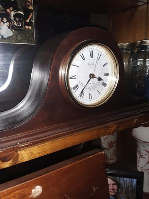 Bulova Mantel Clock for Sale in Three Rivers, MI