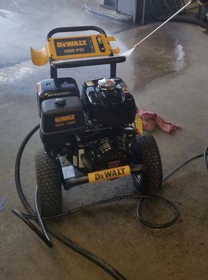 Dewalt 4200 Psi pressure washer for Sale in Washington, DC