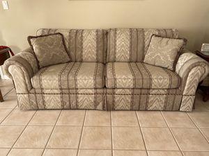 Multi color fabric sofa for Sale in Melbourne, FL