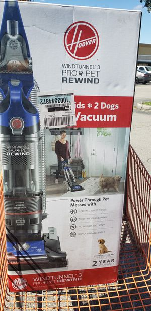 Hoover WindTunnel 3 Pro Pet Bagless Upright Vacuum Cleaner, UH70937 for Sale in Miami, FL