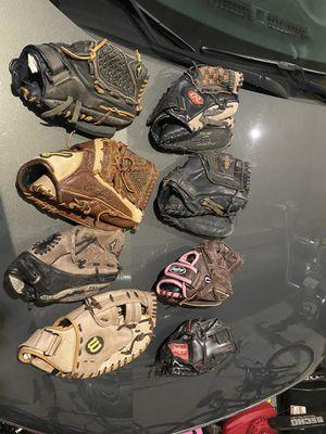 Softball gloves for Sale in Ridgefield, WA