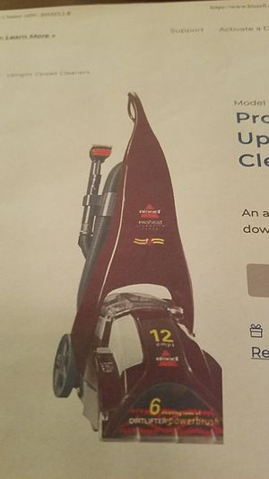 ProHeat ClearView Upright Carpet Cleaner for Sale in Chicago, IL