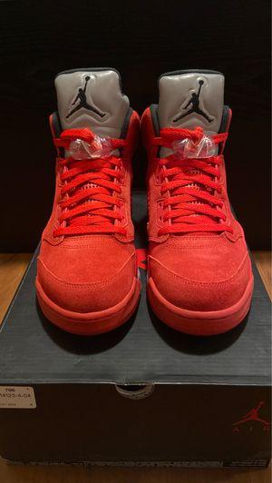 Jordan 5 Red Suede for Sale in Los Angeles, CA