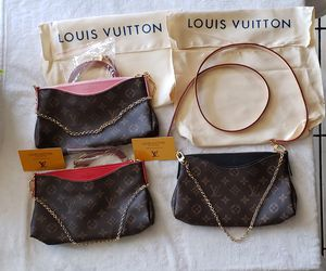 Louis Vuitton Chain Purse (Red or Black ONLY) for Sale in Los Angeles, CA