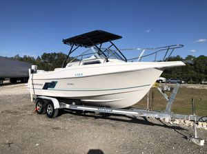 1owner year 1995 Aquasport EXPLORER 24FT Walkaround all original boat motor Johnson 250 hp 2 stroke runs like new Low hours 171 hours all original re for Sale in Coral Gables, FL