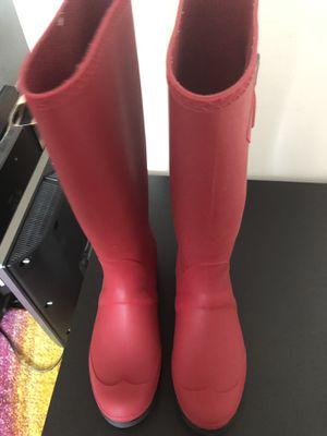 Never worn Kamik size 9 red rain boots for Sale in Arlington, VA