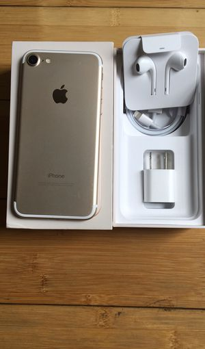 New Condition Apple iPhone 7 Factory Unlocked for Sale in North Miami Beach, FL