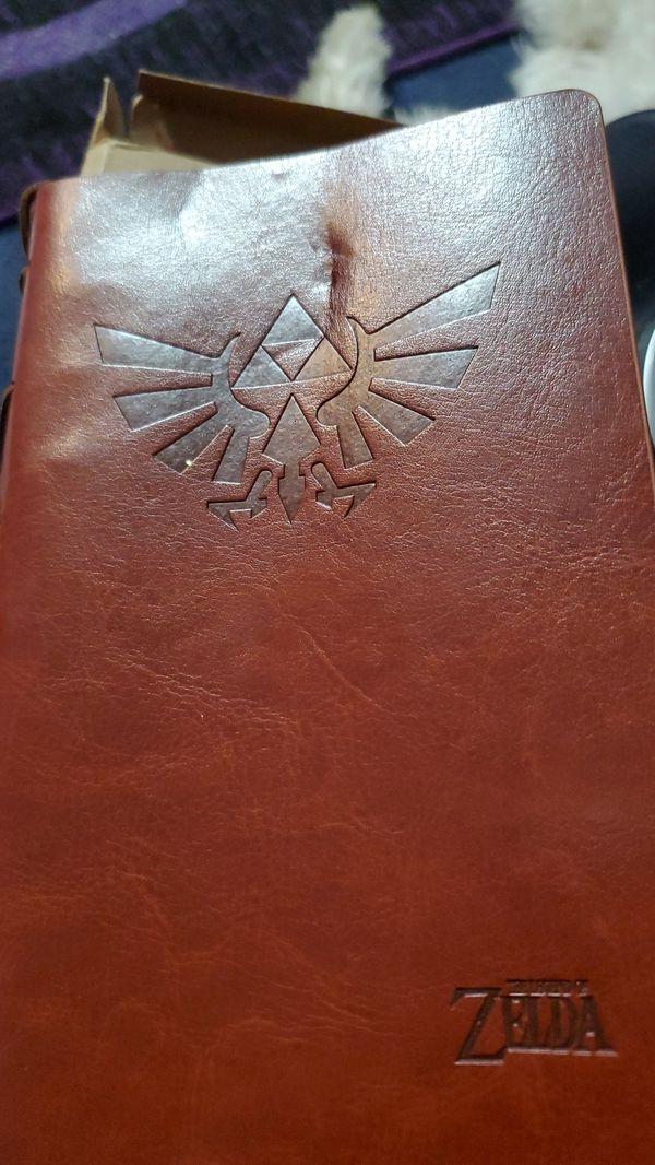Zelda notebook leather