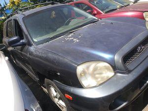 For parts 2004 Hyundai santa fe for Sale in Stockton, CA